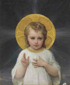 Jesus as a child - Emile Munier Catholic Art, Religious Art, Roman Catholic, Munier, Jesus Our Savior, Jesus Art, God Jesus, Jesus Painting, Religious Pictures