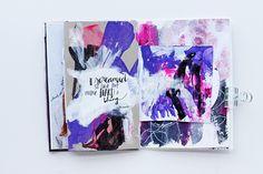 @kahlert | Creative team Inspiration | Season of Music | Get Messy Art Journal