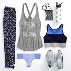 Made a New Year's resolution to work out more but still on the couch 3 days later? Our stylist knows the best way to get moving on your resolution: get the right outfit first! #Aerie