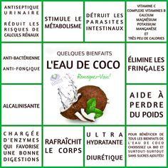 Quelques Bienfaits Magiques de l'eau de Coco | L'EAU de COCO Le Monde s'Eveille Grâce à Nous Tous ♥