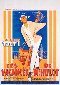 Mr Hulot's holiday - Jaques Tati is wonderful :)