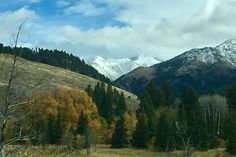 Madison Valley Cameron #Montana after an early autumn snowfall. #montanamoment
