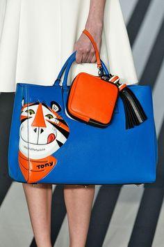 OMG!!! Tony the Tiger Bag!!! Anya Hindmarch FallWinter 2014