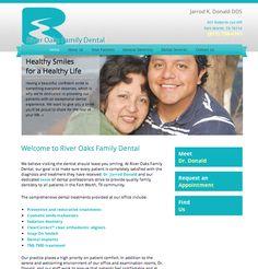 #sesamewebdesign #sds #dental #columbia #responsive #blue #white #gray #sans