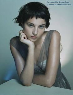 Brunette / Short Hair / Pixie