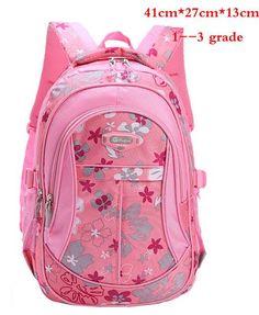 50c27593ca5f Floral Printing Children School Bags Backpack For Teenage Girls Boys  Teenagers Trendy Kids