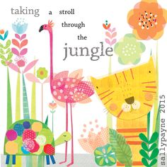 jungle page by sally payne