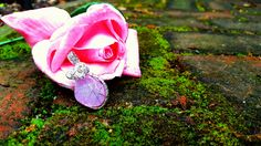Wire Wrapped Pink Onyx Druzy Pendant 🌹