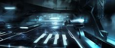 Tron Legacy concept by David Levy