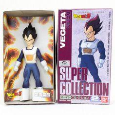 RARE Dragon Ball Z Vegeta 1/12 Figure Super Collection 2 Bandai 1992 JAPAN ANIME