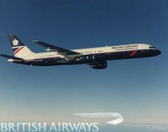 BA Boeing 757 with late 80s to mid 90s livery
