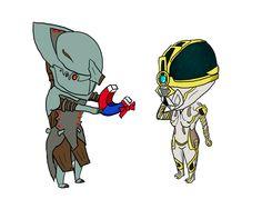 Volt and Mag Prime chibis. by MarshallVex.deviantart.com on @DeviantArt