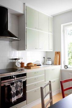 Kitchen Interior, Home Interior Design, Trends, Simple House, Vintage Kitchen, Kitchen Cabinets, New Homes, Home And Garden, House Design