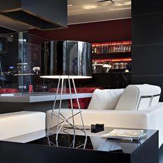 Lampada da tavolo in acciaio RAY T Collezione Consumer - Tavolo by FLOS