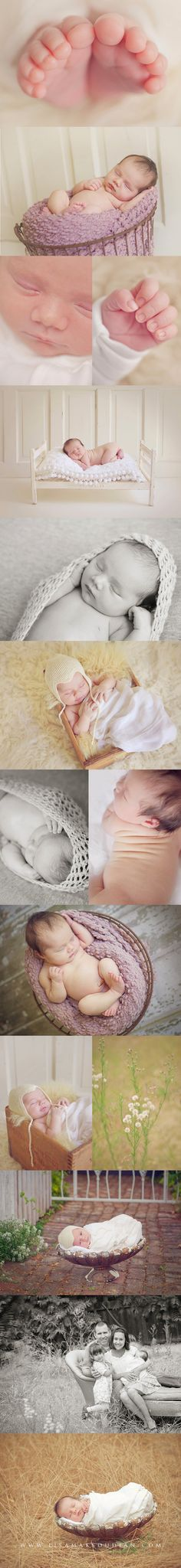Ideas for baby shoot