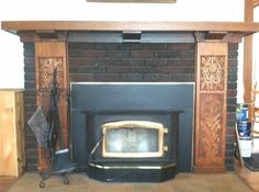 Wow, beautiful fireplace! 1915 Craftsman – Vinton, IA – $149,000