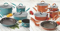PICK YOUR Rachael Ray Cucina Hard Porcelain Enamel 12-Piece Nonstick Cookware Set - http://gimmiefreebies.com/pick-your-rachael-ray-cucina-hard-porcelain-enamel-12-piece-nonstick-cookware-set/ #Baking #Cooking #Food #Foodie #Giveaway #Rachaelray #Recipe #ad