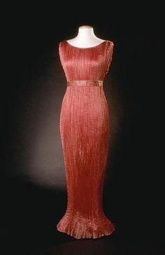 Mariano Fortuny dress, 1936.