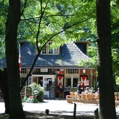A Nice cup coffee in Boshuis Venkraai, Oisterwijk