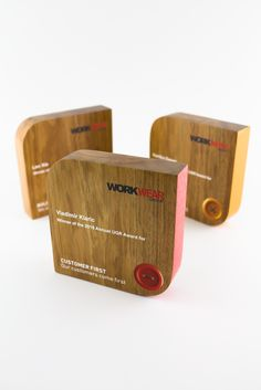 Work Wear Group Sustainable Trophies | Design Awards