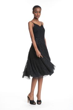 Yelena Applique Slip - This fun dress just makes you want to twirl and dance around! This flowy skirted & spaghetti strapped dress is one to be loved! Take it for a night on the town, dancing with good friends and make some memories!