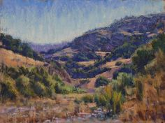 """California Country"" 12x16 Pastel - 900."