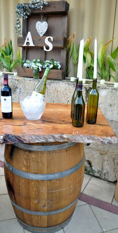 Hire genuine wine barrels and barrel bars in Perth. Free delivery and collection. Check out our gallery!