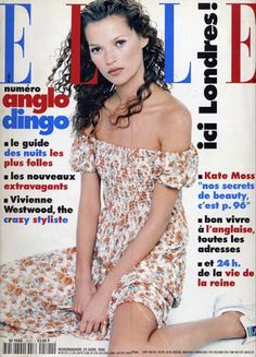 Kate Moss  -  Elle 1994
