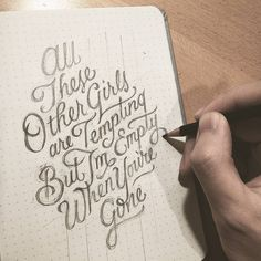Amazing type sketch by @dandrawnwords | #typegang if you would like to be featured | typegang.com | typegang.com #typegang #typography