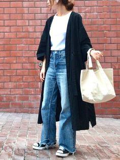 今日は暑かったですね 日除けにもなる リネンガウン★ 袖が広めの作りになっています⭐️ 黒の