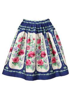Květinová sukně Pepa Loves Lorenza 1 Floral, Skirts, Fashion, Moda, Fashion Styles, Flowers, Skirt, Fashion Illustrations