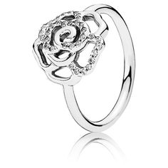 b34dab786 Silver Rose Ring With Clear Cubic Zirconia pandora earrings price - - La  Pandora Boutique Silver Jewelry Online,Welcome Our Pandora Official Site,Shop  the ...