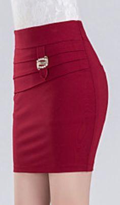 c22c91b70b Resultado de imagen para faldas coreanas elegantes