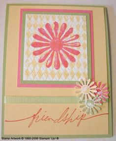 Looks Like Friendship by GatorStamper - Cards and Paper Crafts at Splitcoaststampers