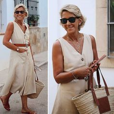 Over 40 Outfits, Girl Fashion, Womens Fashion, Fashion Over 40, Fashion Accessories, Dressing, Classy, Michael Kors, Stylish