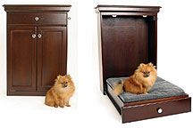 Too funny - for the person who doesnt want an 'unsightly' dog bed cluttering up their home.