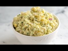 Potato Salad Recipe - My personal PERFECT potato salad! I used regular sweet onions and celery seed instead of celery (bc I didn't have celery on hand). BEST ever!!