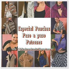 Ponchos De 133 En Pinterest Crochet Mejores Imágenes 2018 AqBzxxU