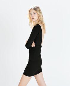 Image 2 of OPEN-BACK DRESS from Zara