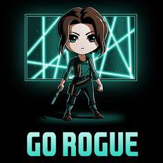 Go Rogue T-Shirt Star Wars TeeTurtle