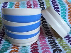 A personal favorite from my Etsy shop https://www.etsy.com/listing/259490552/lot-of-eight-8-vintage-tupperware-c