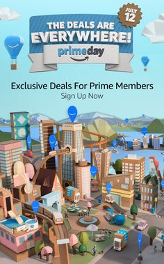 Sign up for a free 30 day FREE trial and get access to exclusive deals on Prime Day July 12th. Click to learn more.