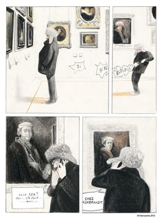 'La traversée du Louvre', David Prudhomme.