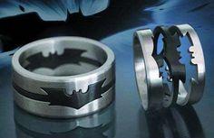 Batman rings!!! For my Love -_-