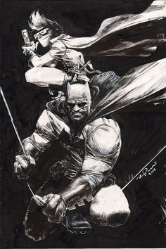 Batman and Robin by Gerardo Zaffino