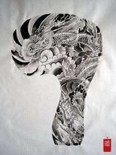 japanese dragon tattoo sleeve - Google Search