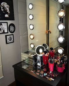 Interesting Mirror with Lights