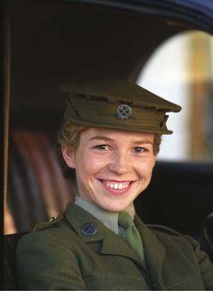Honeysuckle Weeks plays Samantha 'Sam' Stewart in Foyle's War.