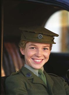 Honeysuckle Weeks as Sam Stewart in Foyle's War.  I am quite smitten with her and continue my affections in series 7.