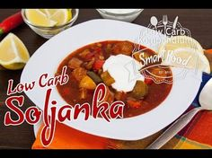 Soljanka - Deftig, würzig und Low Carb